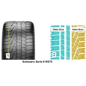 Pirelli WINTER 270 SOTTOZERO s2 235/45 R20 100W XL